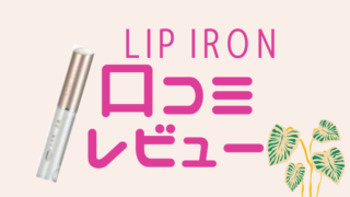 LIP IRON 口コミ